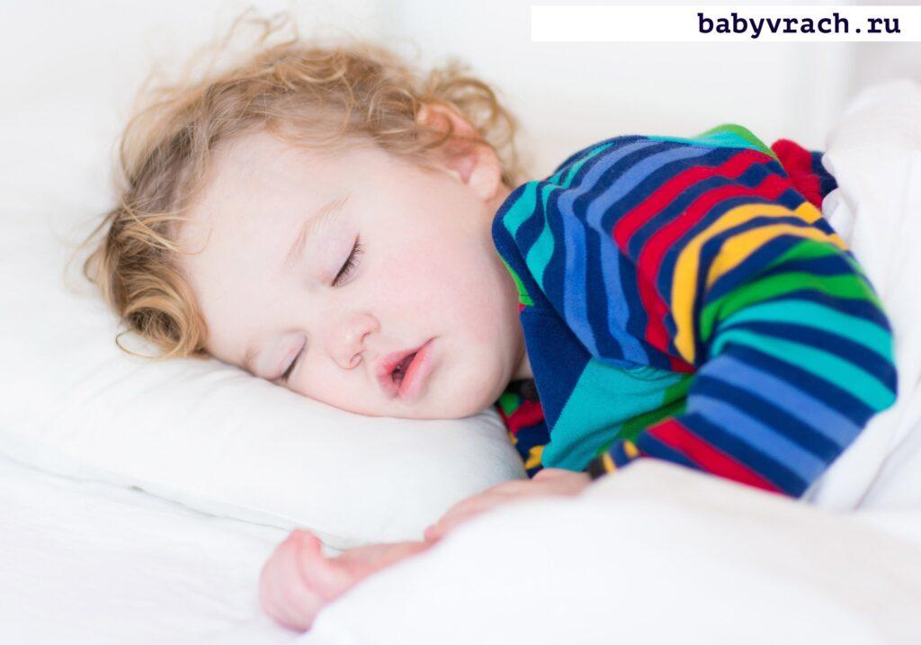 засыпает ребенок